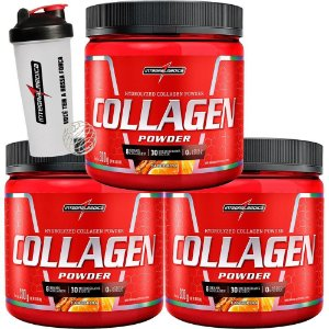 COMBO 3X COLLAGEN 300GR LIMÃO - INTEGRALMEDICA