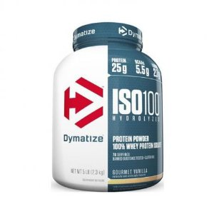 ISO 100 5LBS (2300g) - AMENDOIM COM CHOCOLATE - Dymatize nutrition