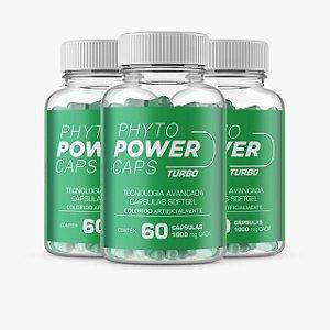 Emagrecedor Phyto Power Turbo 3 potes - Elimine gordura