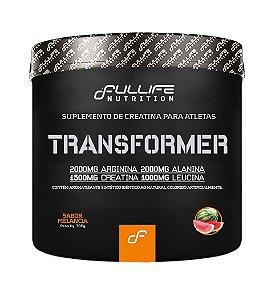 Pré Treino Black Transformer 300g  alanina e creatina - Full Life (Limão)