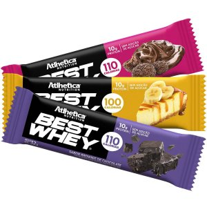 Best whey bar display com 12 unid. de 30g atlhetica