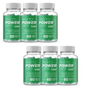 Phyto power 60 caps pague 4 leve 6 - Original