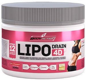 Lipo Drain 4D - 100g - Body Action-Frutas