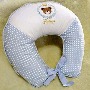 Almofada para Amamentar Ursinho Príncipe Azul