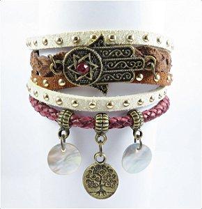 Bracelete Boho Hamsa