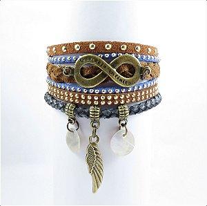 Bracelete Boho Infinito