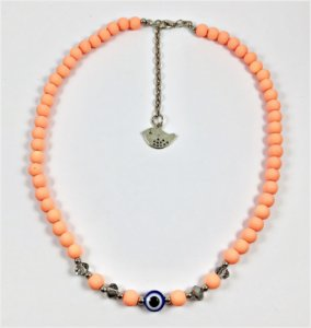 Chocker Colors laranja