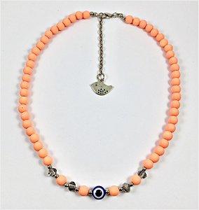 Chocker Colors laranja
