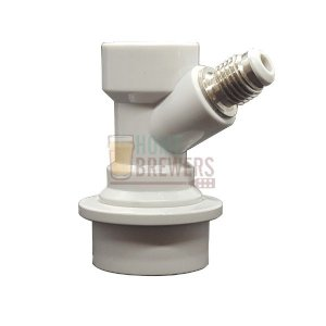 "Conector Ball-Lock para gas, rosca 1/4""MF"
