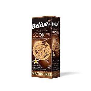 Belive - Cookie Sabor Baunilha com Pedaços de Chocolate 100g