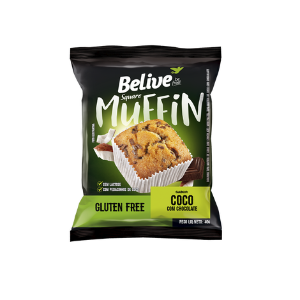 Belive - Muffin Sabor Coco com Chocolate 40g