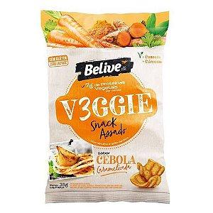 Belive - Snack Veggie Sabor Cebola Caramelizada 35g