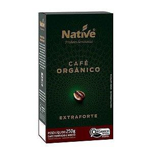 Café Orgânico Torrado e Moido Extra Forte 250g