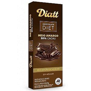 Diatt - Chocolate ao Leite com Amêndoa Zero Açúcar   25g