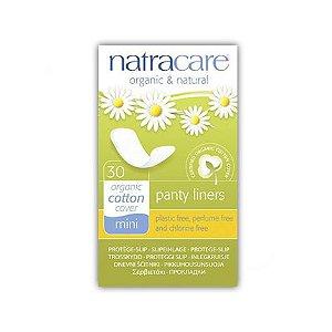 Absorvente externo diário Mini (panty liners) 30 unidades NATRACARE