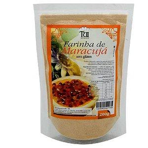 Tui Alimentos - Farinha de Maracujá 200g