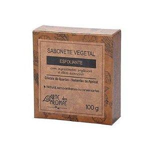 Sabonete Esfoliante Cristais de Quartzo em barra ARTE DOS AROMAS 100g