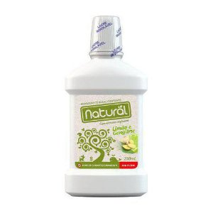 Enxaguante Bucal de limão com gengibre NATURAL SUAVETEX 250ml