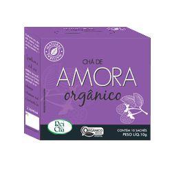 Chá de Amora Natural 10 Sachês - 10gr - Campo Verde