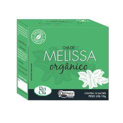 Chá de Melissa Natural 10 Sachês - 10gr - Campo Verde
