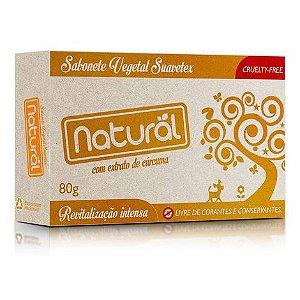 Sabonete Cúrcuma 80g NATURAL SUAVETEX