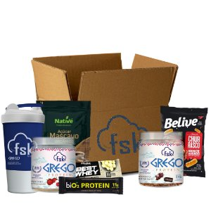 Seek your FOOD Box - Receba Mensalmente