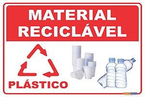 Coleta Seletiva em PVC - Plástico