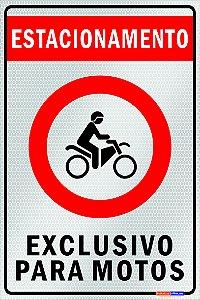 ESTACIONAMENTO PERMITIDO - PONTO MOTOTAXI