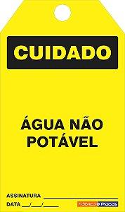 CARTÂO DE TRAVAMENTO - CUIDADO