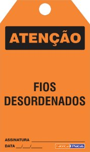 CARTÃO DE TRAVAMENTO - ATENÇÃO