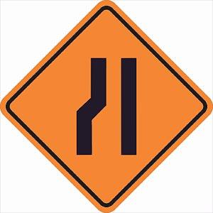 Placas sinalização de Obras100x100cm - OEP 112