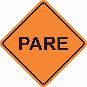 Placas sinalização de Obras 100x100cm - OEP 114
