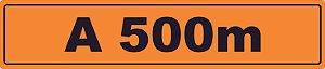 Refletivas 100x23cm - OEP 123