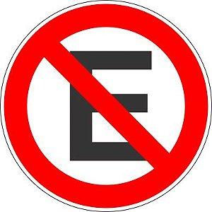 Placa de Regulamentação - R-6a