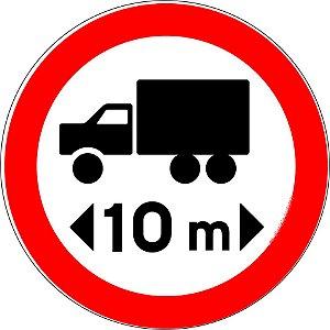 Placa de Regulamentação - R-18
