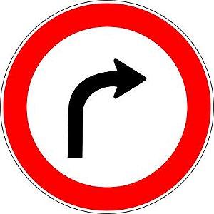 Placa de Regulamentação - R-25b