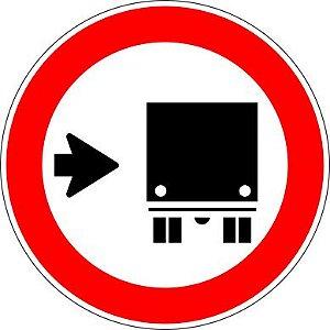 Placa de Regulamentação - R-27