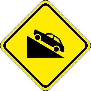 Placa de Advertência - A-20b