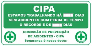 PLACAR CIPA EM ACM 3 MM