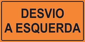 OEP 2104 - Placa de Sinalização de Obras em Rodovias padrão DNIT. REFLETIVA