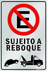 Placa Não Estacione - PES 006