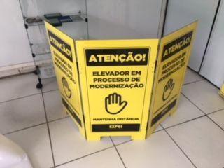 BIOMBO ELEVADOR EM MANUTENÇÂO