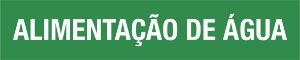 Marcador de tubulação - MCT-018 Indicador de Fluxo - Pacote com 05 unidades.