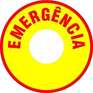 Plaquetas e Etiquetas de Botoeira de Alarme Contra-Incêndio auto-colantes.