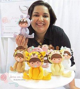 Apostila Digital Baby Safari Artes em Feltros {em PDF} COM BRINDE - IDEAL INICIANTES