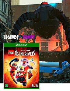 Lego Os Incríveis - Xbox One - Mídia Digital - Somente Offline (Leia a Descrição)