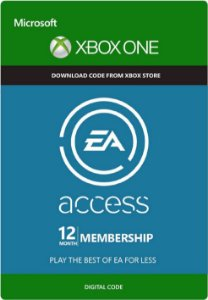 Ea Access 12 Lincença Mêses Assinatura - Xbox One - Midia Digital - Modo Online