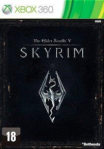 The Elder Scrolls V Skyrim - Xbox 360 - Mídia Digital - Envio Já