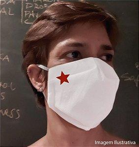 MÁSCARA ESTRELA - Tam P - branca