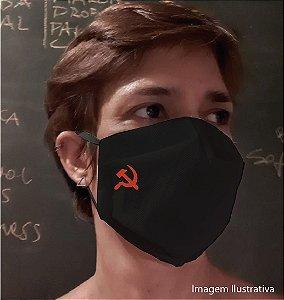 MÁSCARA SOCIALISTA - Tam G - preta